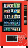 AMS Outsider Snack & Drink Combo Vending Machine