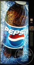 Vendo Used Drink Vending Machine