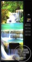 Dixie Narco 501 Waterfall Can Drink Vending Machine