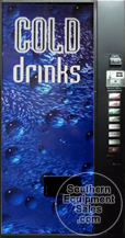 Dixie Narco 501E & 600E Can & Bottle Drink Machine