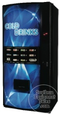 Royal 650 Bubble Front Bottle & Can Drink Vending Machine