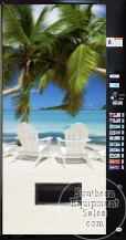 Vendo 721 Beach Front Drink Vending Machine