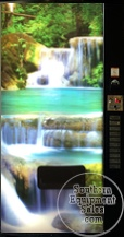 Vendo 500 Series Drink Machine With Waterfall Front