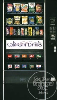 Automatic Products LCM 4 Drink And Snack Combo Vending Machine